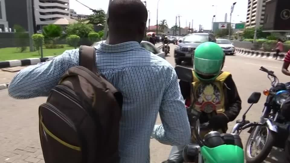 Tech firms race for Nigeria's motorbike taxis