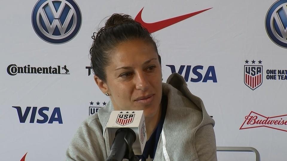 U.S. women impatient for next soccer World Cup match
