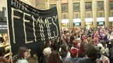Women in Switzerland have gone on strike