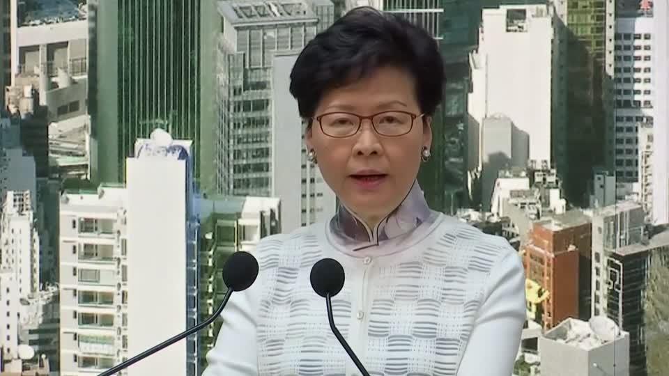 Embattled Hong Kong leader suspends extradition bill