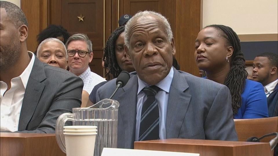 Actor Danny Glover joins calls for slavery reparations