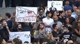 Thousands gather for protest in Georgia after night clashes with police