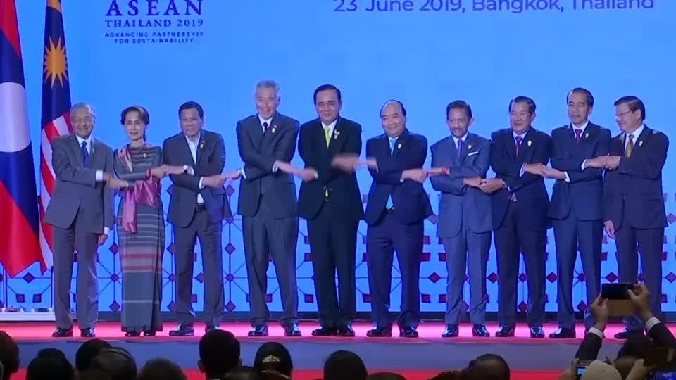 ASEAN leaders summit gets underway in Bangkok