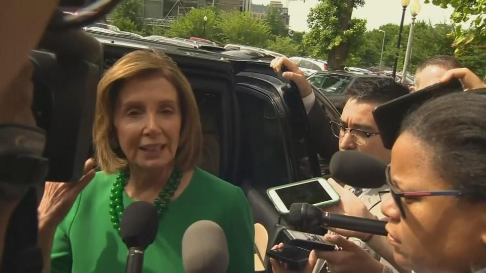Pelosi says migrant aid package 'will pass'