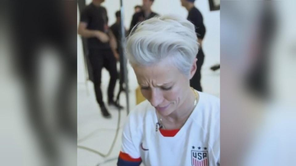 'I'm not going to the f***ing White House': Megan Rapinoe