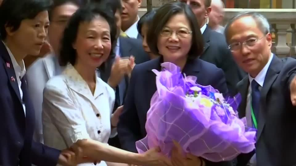 In a snub to China, Taiwan's leader visits U.S.