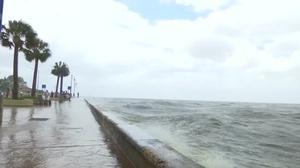 Barry soaks Louisiana, weakens to tropical storm