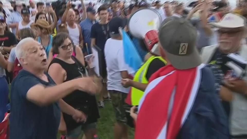 Orlando protesters call for Rossello's resignation