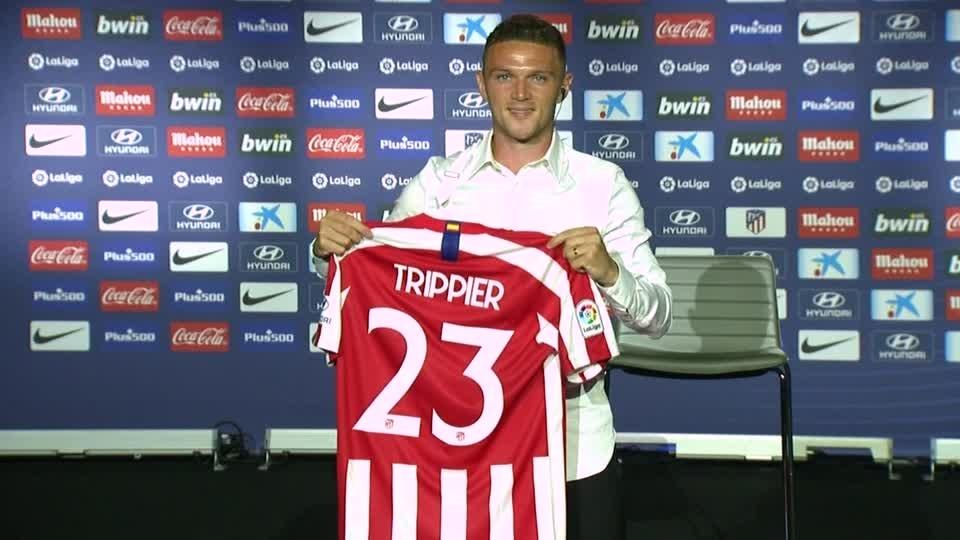 Trippier says prospect of working with Simeone lured him to Atletico