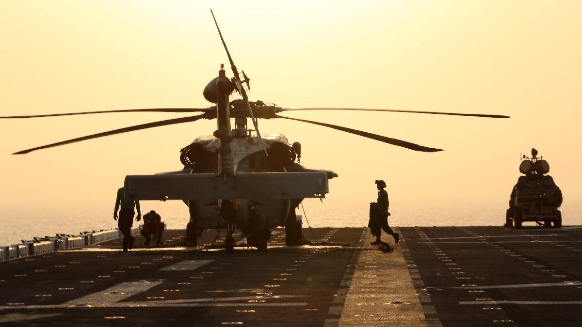 Trump says U.S. ship destroyed Iranian drone