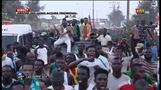 Crowds welcome Senegal national team back home after AFCON final