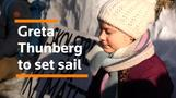 Climate champion Greta Thunberg to set sail on zero-carbon trip