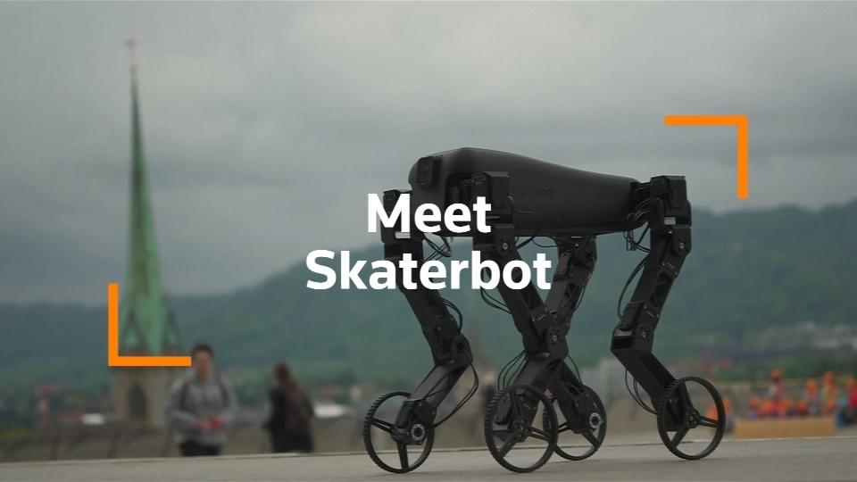 The 'skaterbot' that can teach itself new tricks