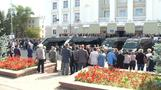 Russia holds memorial service for nuclear workers