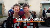 Seeing double: hundreds of twins gather for festival in France