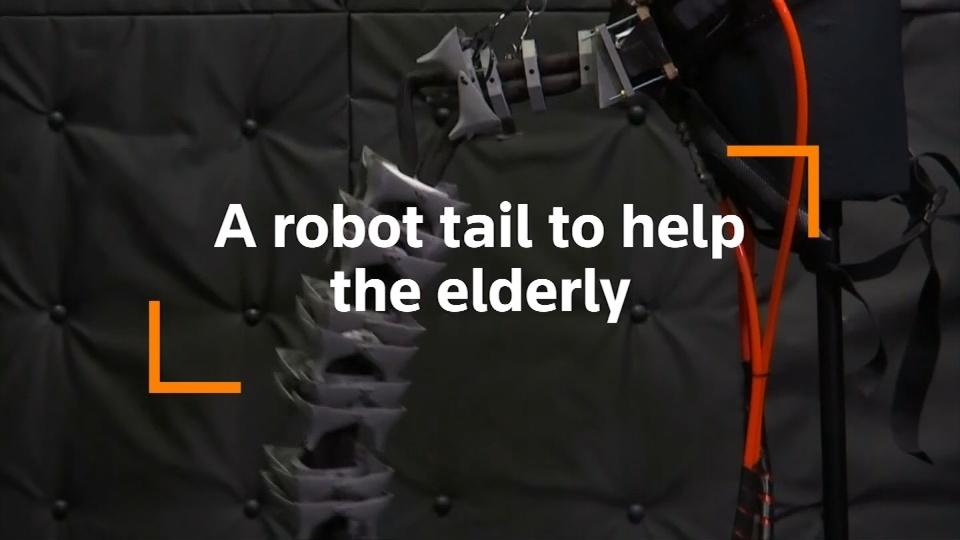 Wearable robotic tail could help elderly with balance