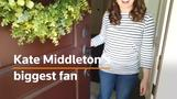 She's Kate Middleton's greatest fan and has the wardrobe to prove it