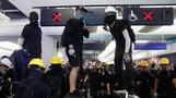 Hong Kong protesters renew clashes with police