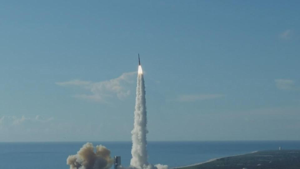 Magellan GPS satellite launches from Cape Canaveral