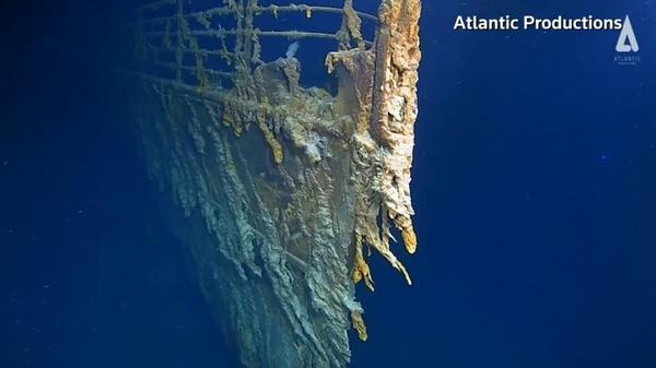タイタニック号、大西洋の海底で14年ぶりに撮影(字幕・22日)