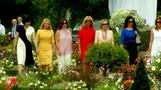 زوجات زعماء مجموعة السبع يتذوقن السانجريا في قرية فرنسية صغيرة