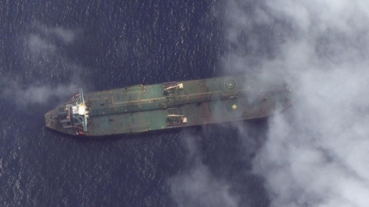 Iranian tanker pictured off Syrian port