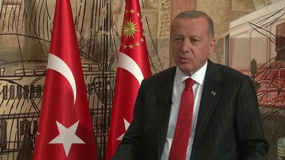 Erdogan speaks to Reuters about S-400 missile system
