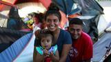 Honduran newlyweds cling to asylum dream, as chances dim