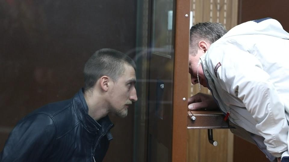 Russia jails novice actor for hurting policeman at protest