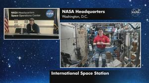 Ad Astra's Brad Pitt interviews astronaut Nick Hague