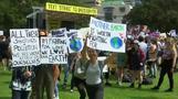 Weltweite Proteste für Klimaschutz