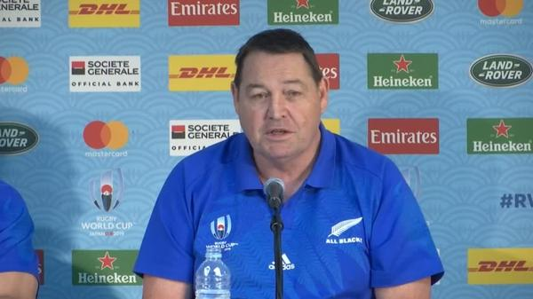Five or six teams could win it, says All Blacks' coach Hansen
