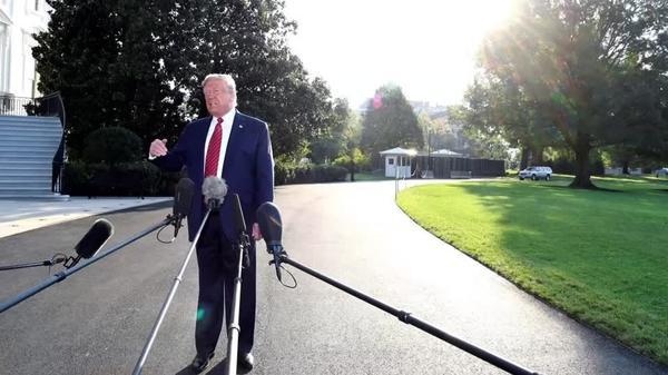 Trump defends Ukraine call, pushes back on Biden
