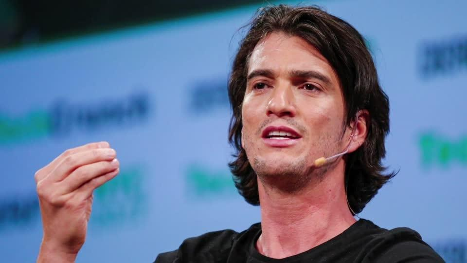 WeWork CEO in talks over future role