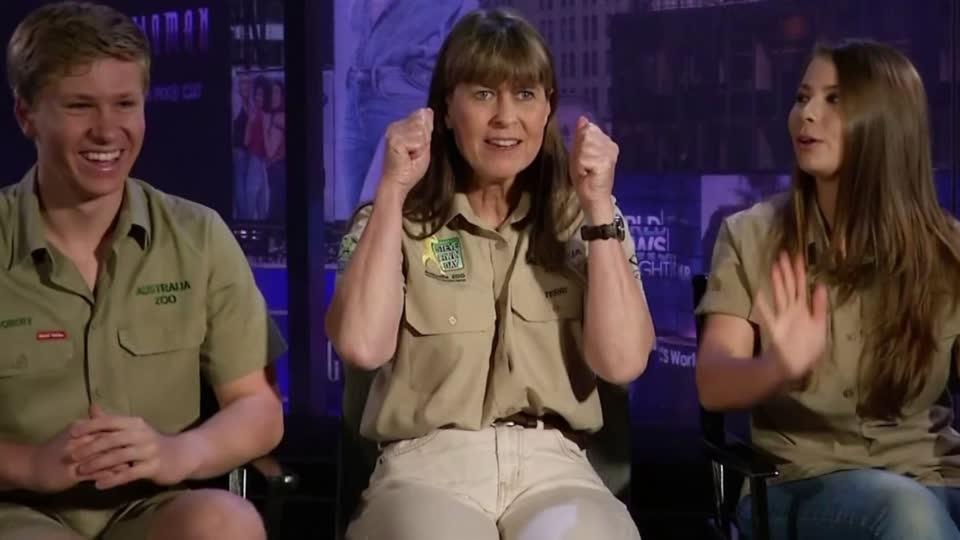 'Buckle up, you'll need a helmet' for the second season of 'Crikey! It's the Irwins'