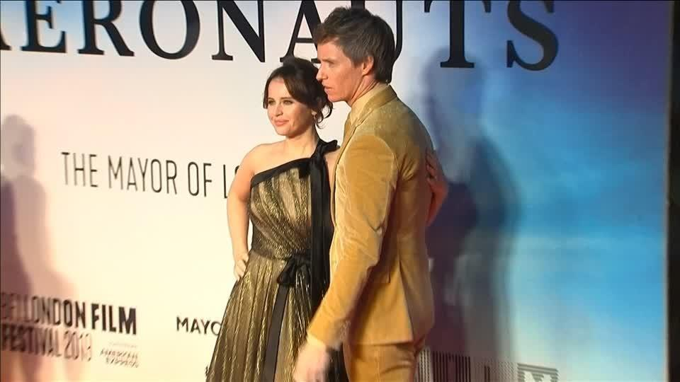 "Eddie Redmayne and Felicity Jones reunite for ""The Aeronauts"""