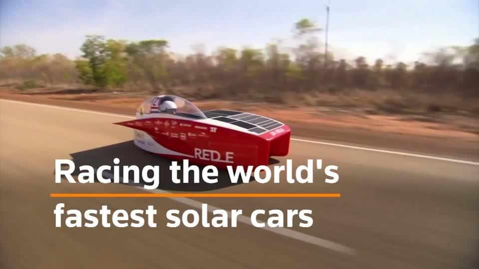 World's biggest solar car race gets underway in Australia