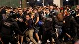 Protests erupt after Spain jails separatist leaders