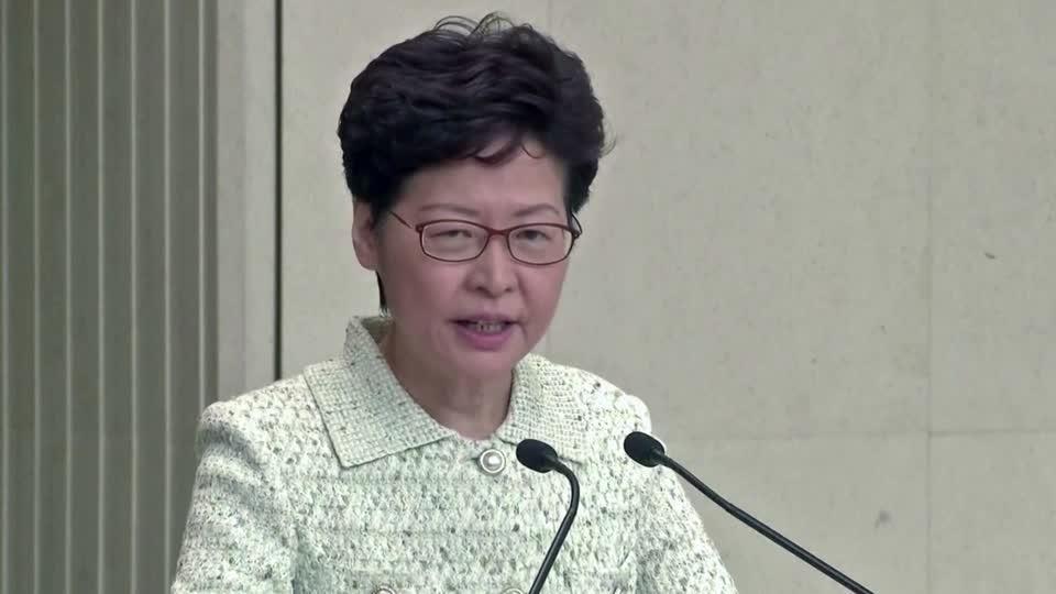 'Totally irresponsible': Lam slams U.S. senators