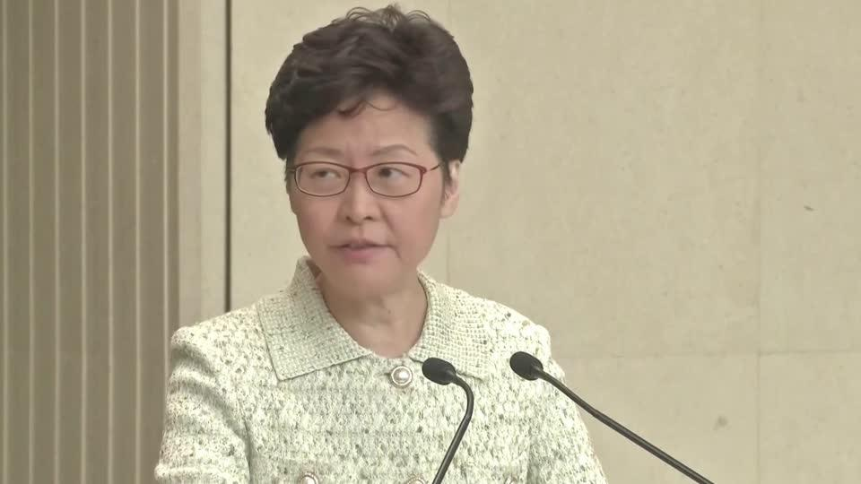Hong Kong leader says city not a 'police state'