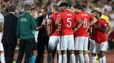 England soccer game suspended over racist chants