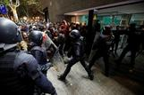 Clashes in Barcelona over jailed Catalan leaders