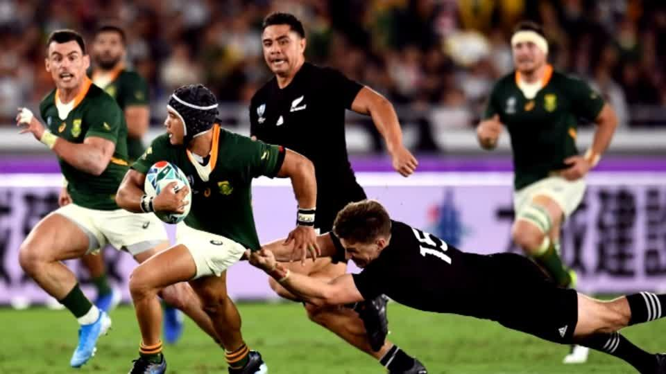 South African rugby dynamite Kolbe set for Japan clash