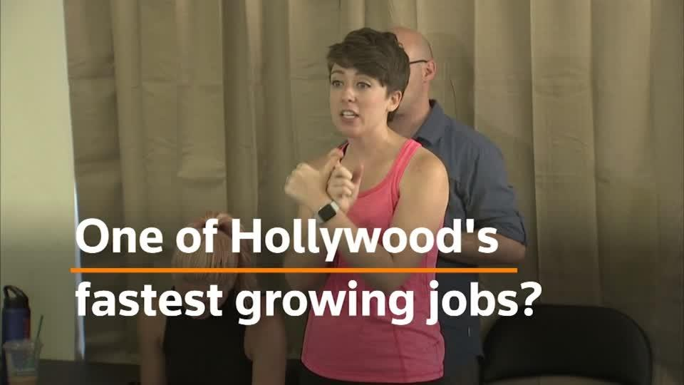 Hollywood's fastest growing job: tackling sex scenes