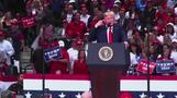 Trump blasts Democrats at raucous Dallas rally