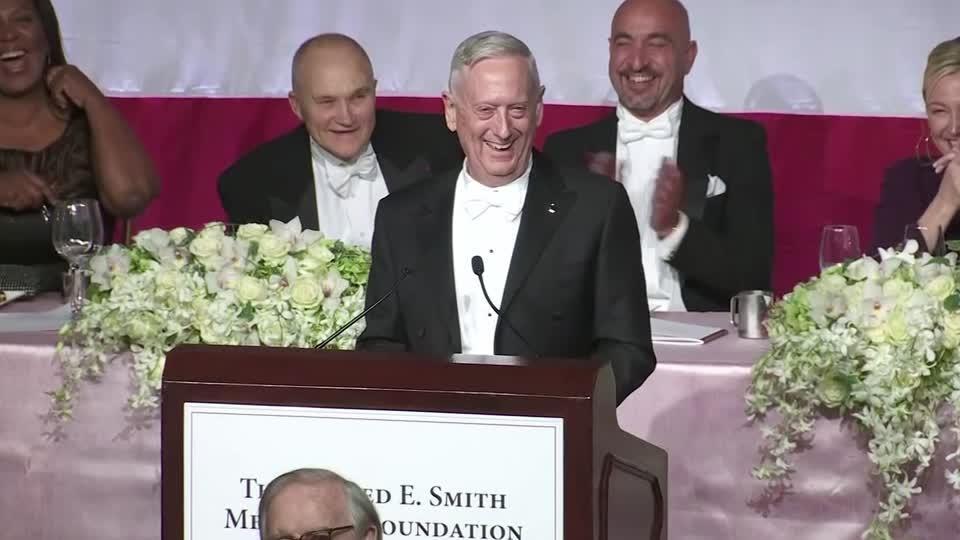 """I'm the Meryl Streep of generals"" -Mattis"