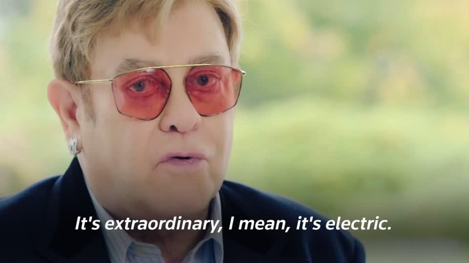 Elton John talks highlights and health scares as autobiography hits...