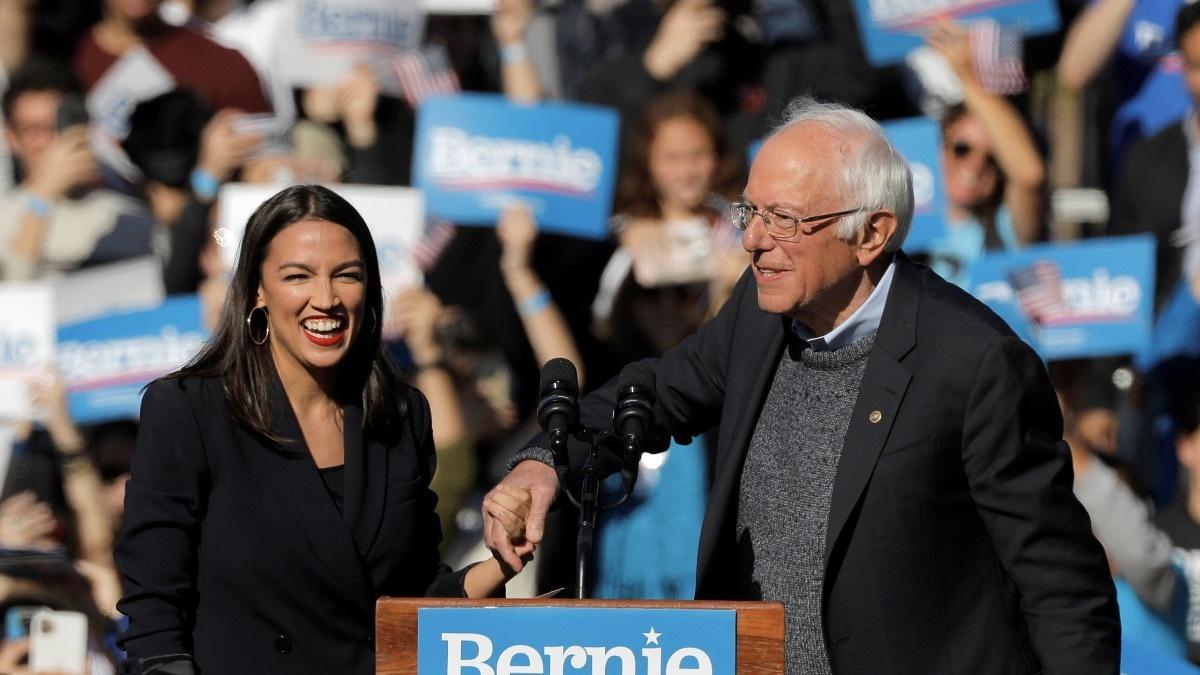 Behind AOC's Sanders endorsement