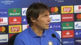 Inter's Conte says he wants a match with no regrets against Borussia