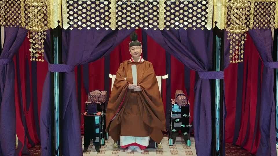 Japan enthrones emperor in ancient ceremony